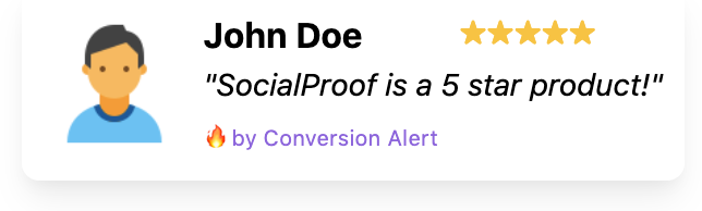 Increase SaaS Website Conversions with Social Proof