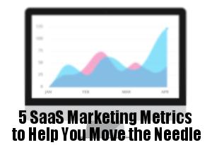 SasS Marketing Metrics
